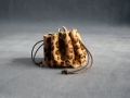 Escarcelle panthère poilu