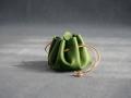 Escarcelle vert prés