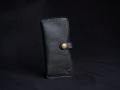 Les Cuirs de Lune - Etui à portable XL noir