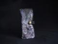 Les Cuirs de Lune - Etui à portable XL violet métalisé