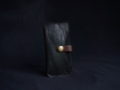 Les Cuirs de Lune - Etui à portable XS brun