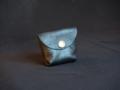Les Cuirs de Lune - Mini porte-monnaie marron glacé
