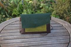 Les Cuirs de lune - Pochette Home marron vert