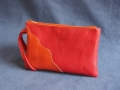 Pochette Onde rouge orange