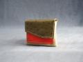 Porte-monnaie Home vert de gris, kaki, rouge