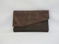 porte-papiers tabatière brun