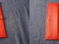 Les Cuirs de Lune Protège cahier rouge