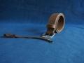 Les Cuirs de Lune - ensemble ceinture et porte-clef marron vieilli