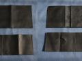 ensemble porte-papiers et cartes noir