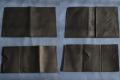 Les Cuirs de Lune - Ensemble Porte-papiers et cartes noir