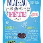 Affiche de Palaiseau en Fête 2015