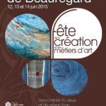 Affiche de la Fête de la Création et des Métiers d'arts édition 2015