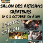 Affiche Salon des artisans créateurs de Vert-le-Grand édition 2015